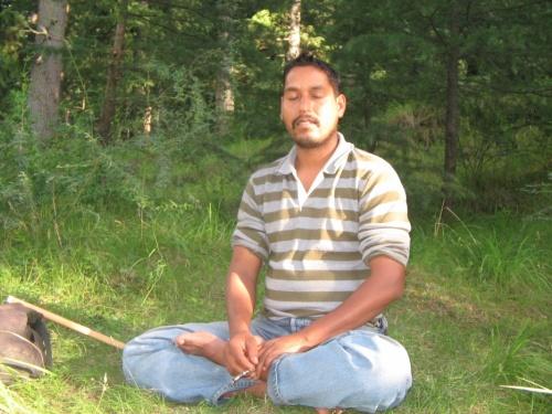 Шива медитирующий