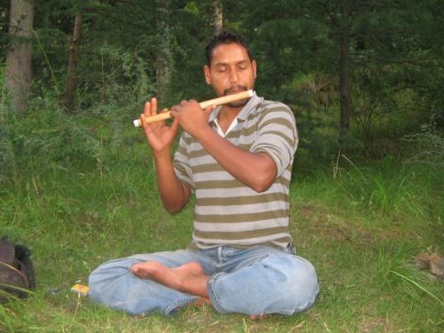 Шива играющий