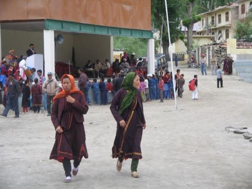 традиционные женские наряды Лахула
