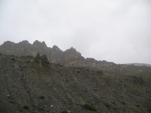 Danhkar Gompa(наверху)