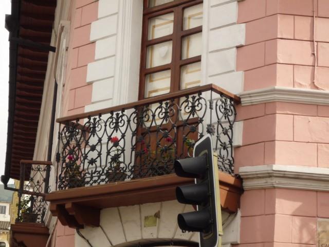 Балконы старого Кито.