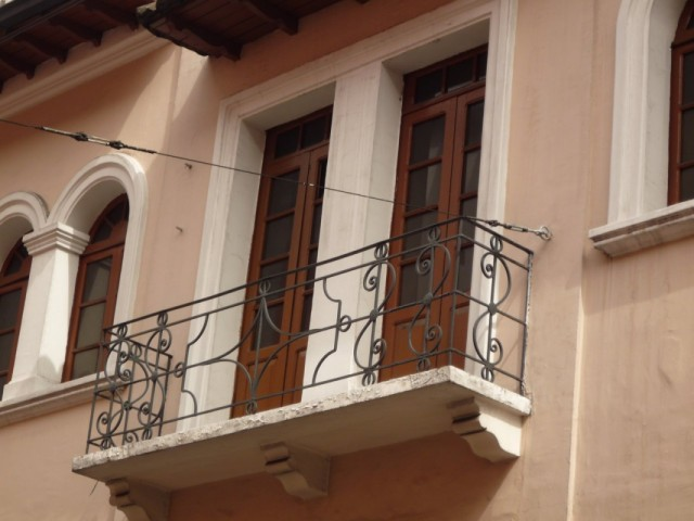 Балконы сторого Кито.