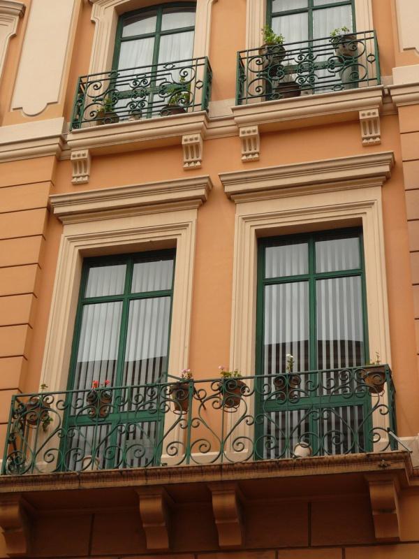 Балконы старого Кито