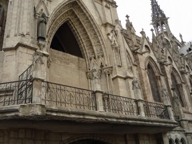 """фрагмент """"балконов"""" базилики"""
