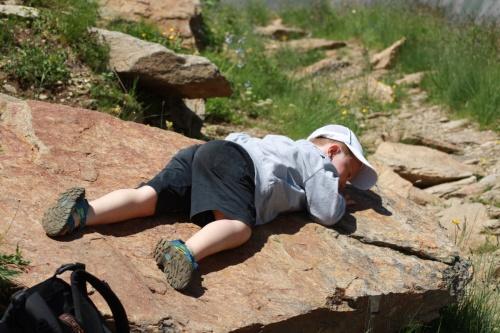 альпинист устал