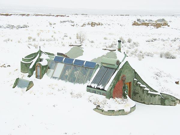 пример The Earthship дома