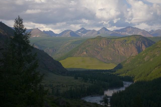 Вид на долину реки Чуя