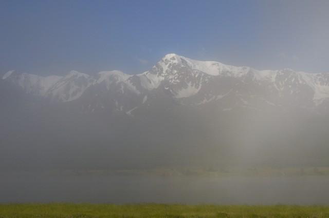 Куркурек в тумане
