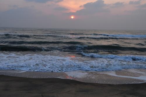 Маммалапурам. Океан