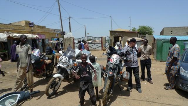 Таможня в Россо. Сенегал