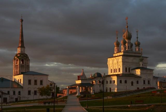 Закат над Соликамском 1