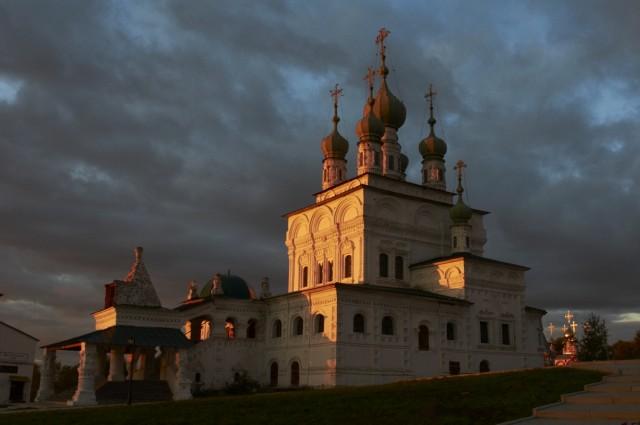 Закат над Соликамском 3