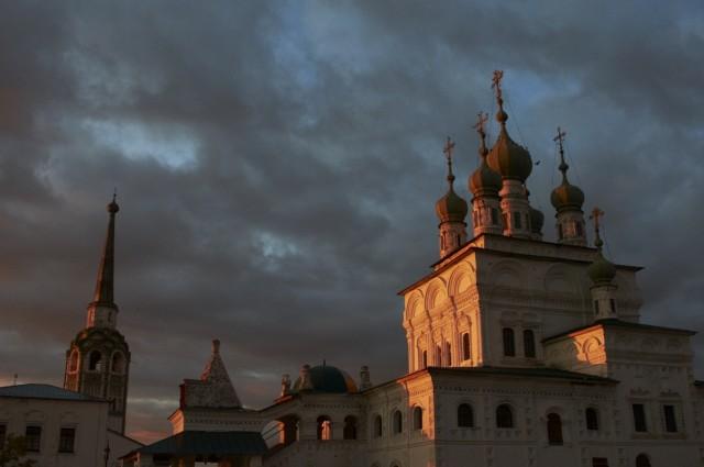 Закат над Соликамском 4