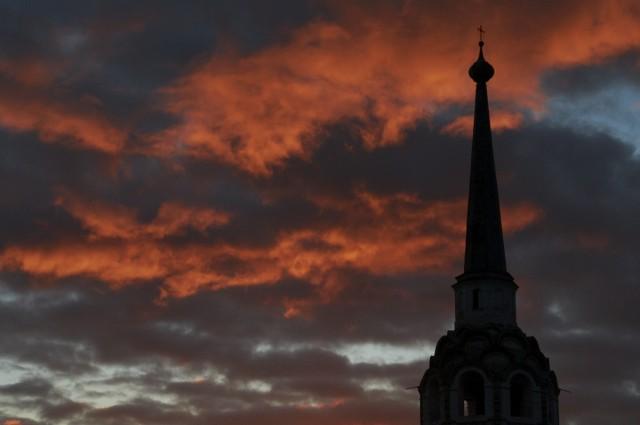 Закат над Соликамском 5