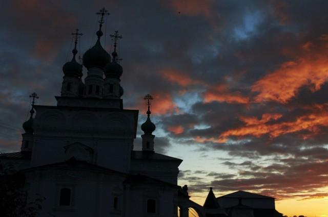 Закат над Соликамском 6