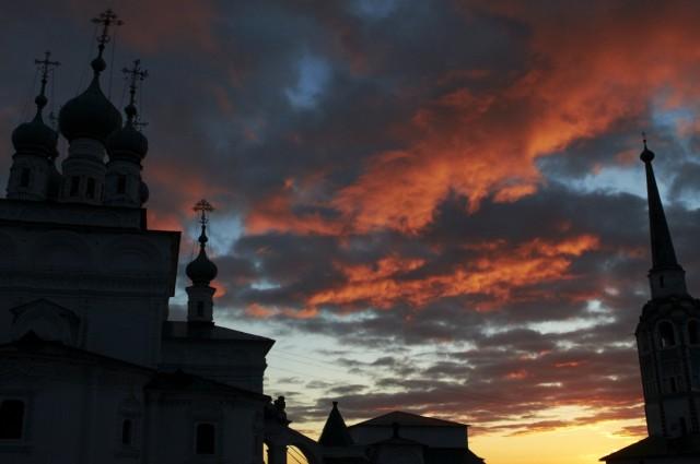 Закат над Соликамском 7