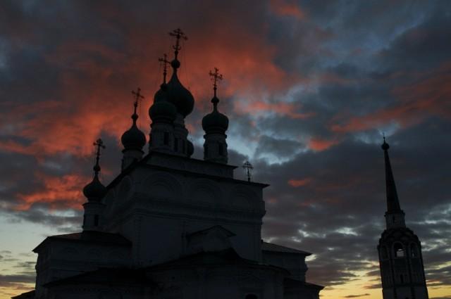 Закат над Соликамском 8