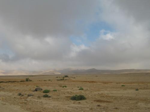 тучи над Синаем