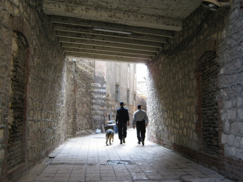 вход в Коптский квартал