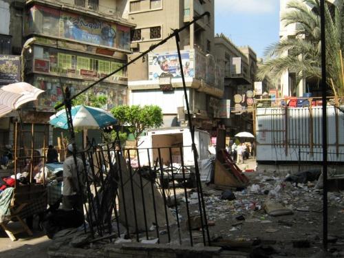 Вы таки думаете в Каире нет мусора?