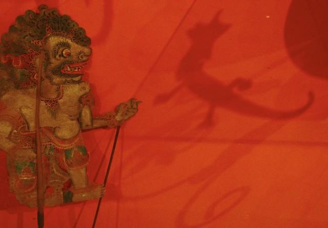 Кукла театра теней
