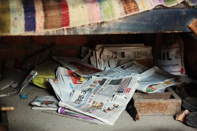 газеты в доме читают