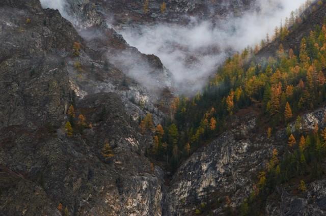 Скалы и облака