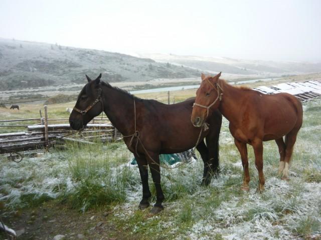 Зима на АкАллахе