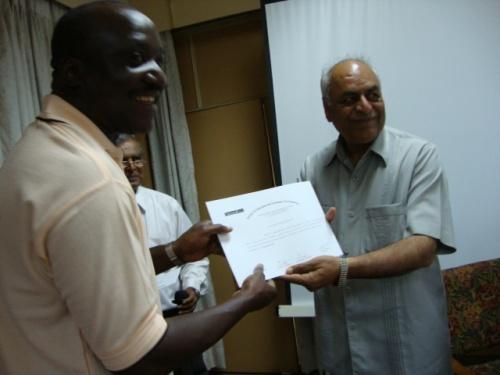 сертификаты в конце программы