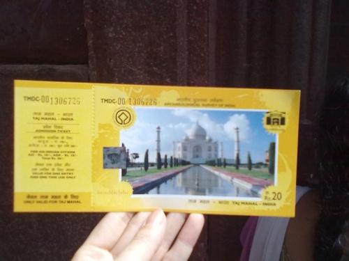 билет в Тадж