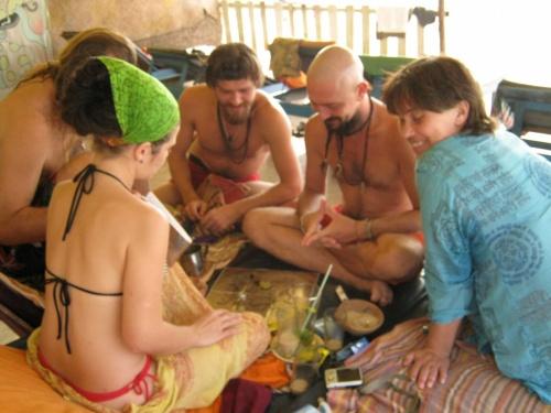 пляжные игры сансарических существ
