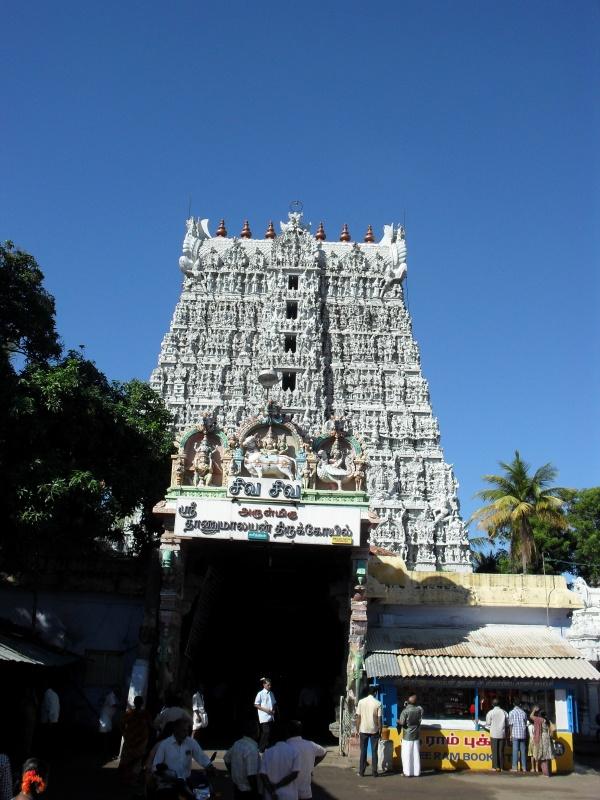 Этому храму  2500 лет. Сучиндрам, Тамилнаду. Недалеко от Кералы