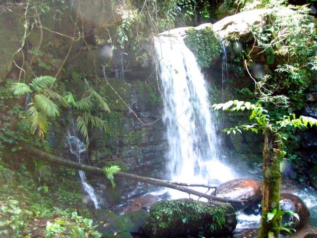 Найденный водопад.