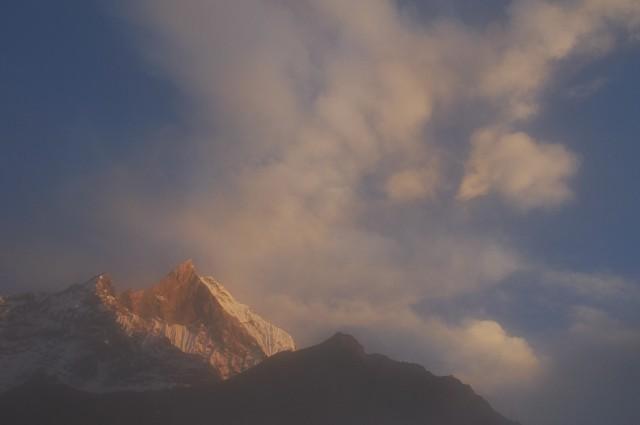 Облака над Маччапуччаре 1