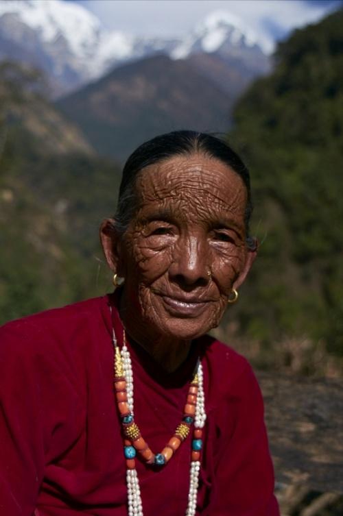 Гурунгская женщина