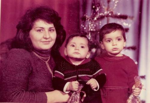 1985-й, мама и сестра..мне 1,5 года