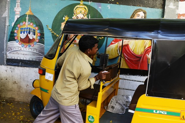 рикша, видя мою страсть