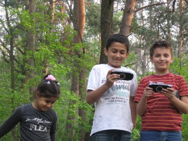 Анита, Паван и Дима