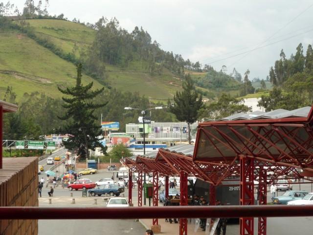 смотрим из Колумбии в Эквадор