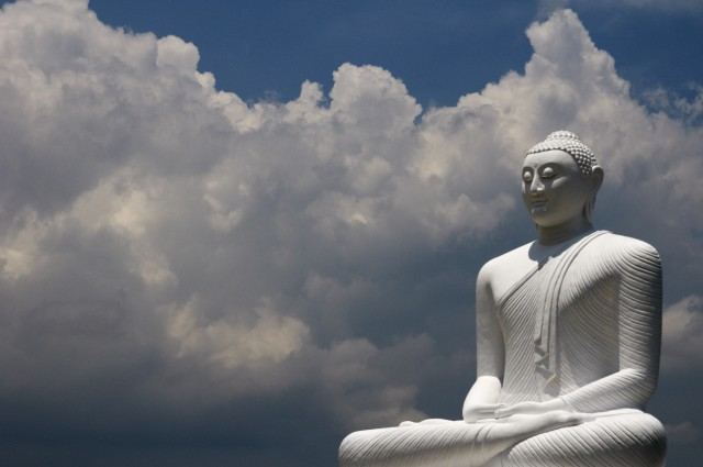 А тут буддисты
