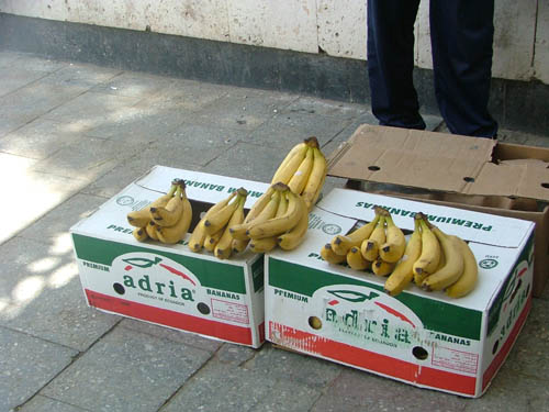 Бананы- 2 самони штука..дорого