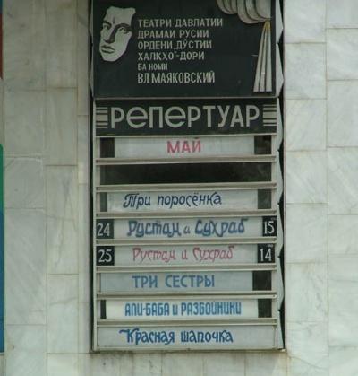 репертуар русского театра