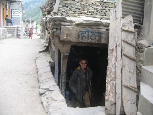 андерграундная дхаба в Удайпуре(Лахул,Гимачал Прадеш)