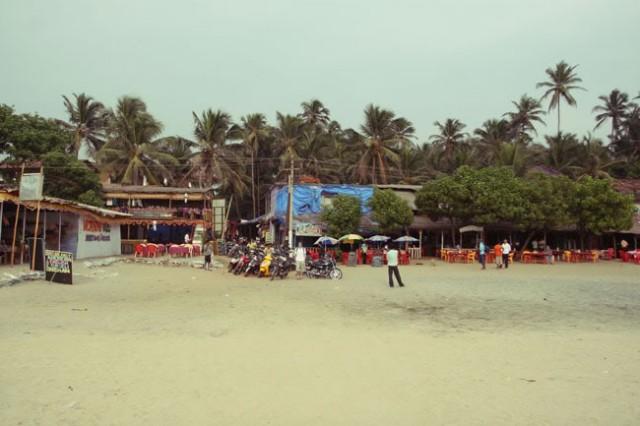 главный выход на пляж