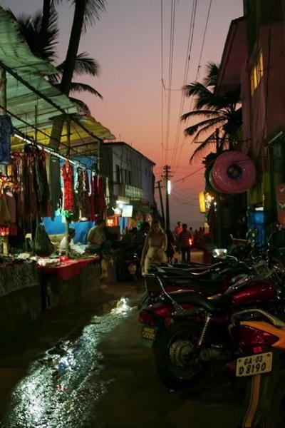 главная улица в арамболе