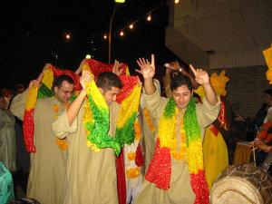 Танец бунгра