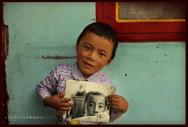 тот мальчик из тибетской колонии.