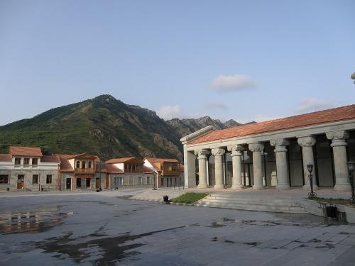 Одна из площадей Старой Мцхеты