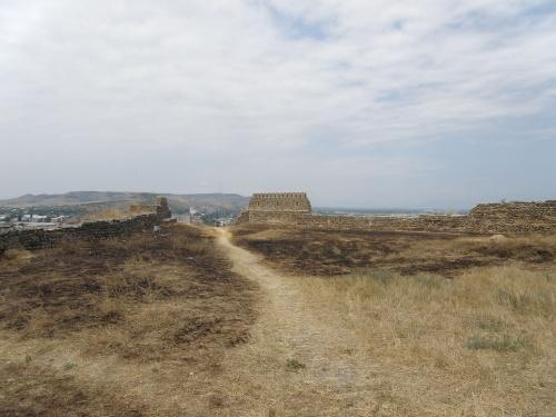 Крепость Горисцихе внутри