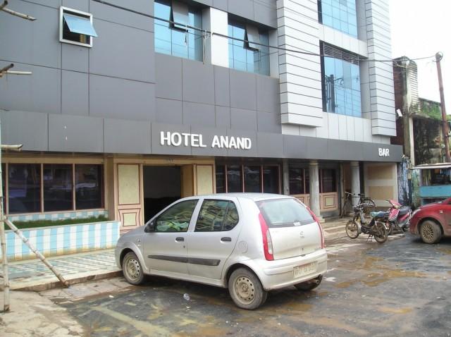 Отел Ананд. И бар при нём